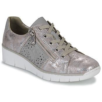 Παπούτσια Γυναίκα Χαμηλά Sneakers Rieker RIKTUS Gold
