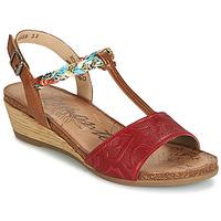 Παπούτσια Γυναίκα Σανδάλια / Πέδιλα Remonte Dorndorf MIJUS Red