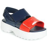 Παπούτσια Γυναίκα Σανδάλια / Πέδιλα Melissa SANDAL + FILA Marine / Red / Άσπρο