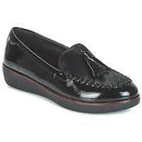 Παπούτσια Γυναίκα Μοκασσίνια FitFlop PAIGE FAUX-PONY Black