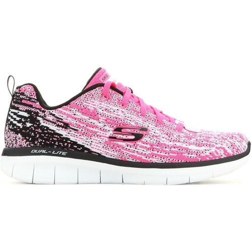 Παπούτσια Γυναίκα Χαμηλά Sneakers Skechers Synergy 2.0 12383-HPBK pink, black, grey