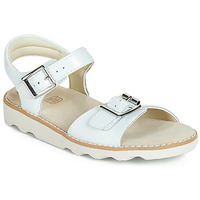 Παπούτσια Κορίτσι Σανδάλια / Πέδιλα Clarks Crown Bloom K Άσπρο
