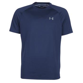 Υφασμάτινα Άνδρας T-shirt με κοντά μανίκια Under Armour TECH 2.0 SS TEE Marine