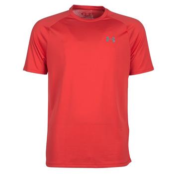 Υφασμάτινα Άνδρας T-shirt με κοντά μανίκια Under Armour TECH 2.0 SS TEE Red