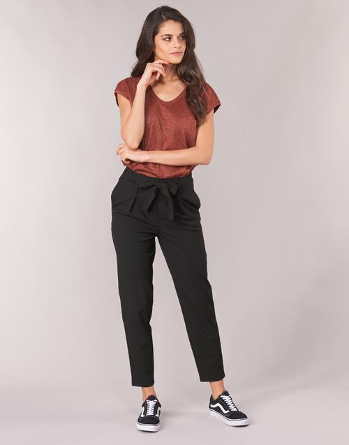 Υφασμάτινα Γυναίκα Παντελόνια Chino/Carrot Only ONLNICOLE Black