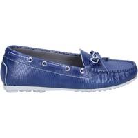 Παπούτσια Γυναίκα Μοκασσίνια K852 & Son mocassini blu pelle BT933 Blu