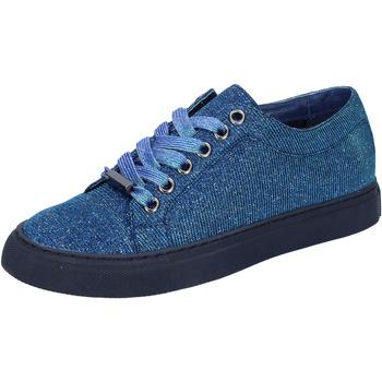 Xαμηλά Sneakers Sara Lopez sneakers blu tessuto BT995