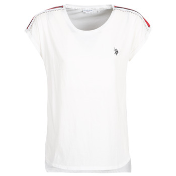 Υφασμάτινα Γυναίκα T-shirt με κοντά μανίκια U.S Polo Assn. JEWELL TEE SS Άσπρο