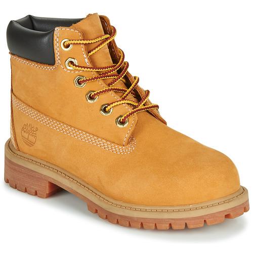 Παπούτσια Παιδί Μπότες Timberland 6 IN PREMIUM WP BOOT COGNAC