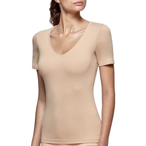 Υφασμάτινα Γυναίκα T-shirt με κοντά μανίκια Impetus Innovation Woman 8351898 144 Beige