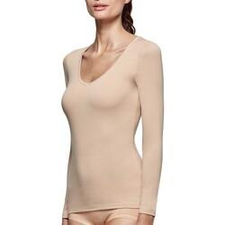 Υφασμάτινα Γυναίκα Μπλουζάκια με μακριά μανίκια Impetus Innovation Woman 8361898 144 Beige