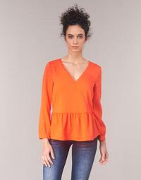 Υφασμάτινα Γυναίκα Μπλούζες Vila VIROSSIE Orange
