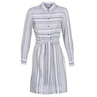 Υφασμάτινα Γυναίκα Κοντά Φορέματα Vila VINAVIDA Άσπρο / Μπλέ