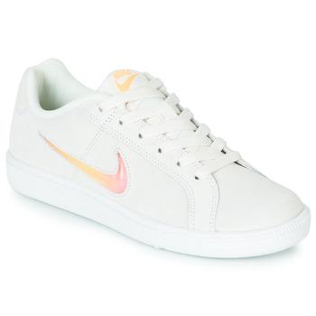 Παπούτσια Γυναίκα Χαμηλά Sneakers Nike COURT ROYALE PREMIUM W Άσπρο / Orange