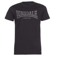 Υφασμάτινα Άνδρας T-shirt με κοντά μανίκια Lonsdale LOGO KAI Black
