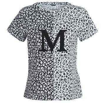 Υφασμάτινα Γυναίκα T-shirt με κοντά μανίκια Marciano RUNNING WILD Black / Άσπρο