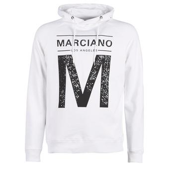 Υφασμάτινα Άνδρας Φούτερ Marciano M LOGO Άσπρο