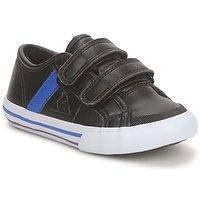 Παπούτσια Αγόρι Χαμηλά Sneakers Le Coq Sportif SAINT MALO Black / Μπλέ