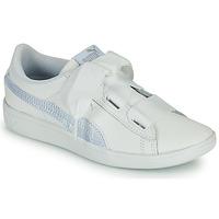 Παπούτσια Παιδί Χαμηλά Sneakers Puma VIKKY RIB PS BL Άσπρο