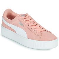 Παπούτσια Γυναίκα Χαμηλά Sneakers Puma VIKKY STACK PEA Ροζ