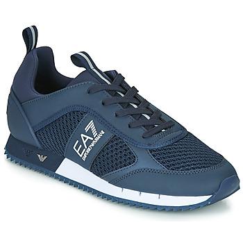 Παπούτσια Άνδρας Χαμηλά Sneakers Emporio Armani EA7 BLACK&WHITE LACES U Μπλέ