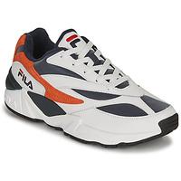 Παπούτσια Άνδρας Χαμηλά Sneakers Fila V94M R LOW Άσπρο / Orange