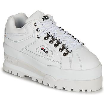 Παπούτσια Γυναίκα Χαμηλά Sneakers Fila TRAILBLAZER WEDGE WMN Άσπρο