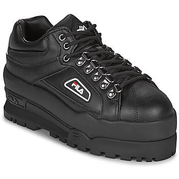 Παπούτσια Γυναίκα Χαμηλά Sneakers Fila TRAILBLAZER WEDGE WMN Black