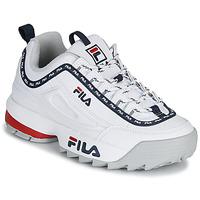 Παπούτσια Γυναίκα Χαμηλά Sneakers Fila DISRUPTOR LOGO LOW WMN Άσπρο
