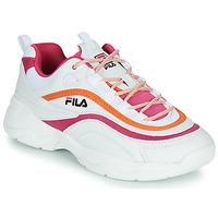 Παπούτσια Γυναίκα Χαμηλά Sneakers Fila RAY CB LOW WMN Άσπρο / Ροζ / Orange