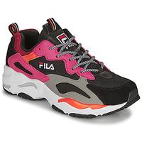 Παπούτσια Γυναίκα Χαμηλά Sneakers Fila RAY TRACER WMN Black / Ροζ
