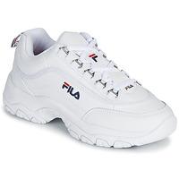 Παπούτσια Γυναίκα Χαμηλά Sneakers Fila STRADA LOW WMN Άσπρο