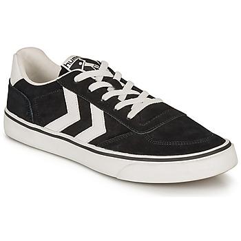 Παπούτσια Χαμηλά Sneakers Hummel STADIL 3.0 SUEDE Black / Άσπρο