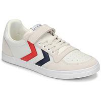 Παπούτσια Παιδί Χαμηλά Sneakers Hummel SLIMMER STADIL LEATHER LOW JR Άσπρο