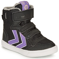 Παπούτσια Κορίτσι Ψηλά Sneakers Hummel STADIL POLY BOOT MID JR Black