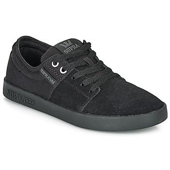 Παπούτσια Χαμηλά Sneakers Supra STACKS II Black