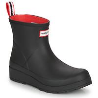 Παπούτσια Γυναίκα Μπότες βροχής Hunter WOMENS ORIGINAL INSULATED PLAY SHORT Black