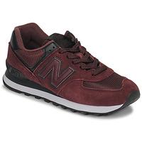 Παπούτσια Γυναίκα Χαμηλά Sneakers New Balance 574 Bordeaux
