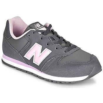 Παπούτσια Κορίτσι Χαμηλά Sneakers New Balance 373 Grey / Ροζ