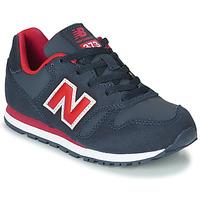 Παπούτσια Παιδί Χαμηλά Sneakers New Balance 373 Μπλέ / Red