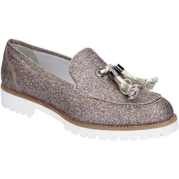 Παπούτσια Γυναίκα Μοκασσίνια Vsl BS62 Ασήμι