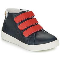 Παπούτσια Κορίτσι Χαμηλά Sneakers Faguo ASPENLOW LEATHER Μπλέ