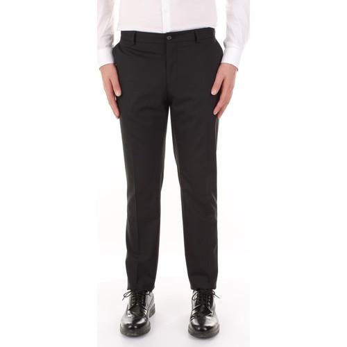 Υφασμάτινα Άνδρας Παντελόνια κοστουμιού Premium By Jack&jones 12084146 Nero