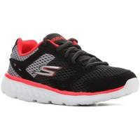 Παπούτσια Παιδί Τρέξιμο Skechers Go Run 400 97681L-BGRD black, red, grey