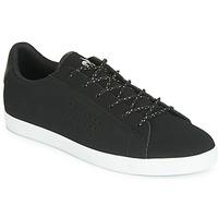 Παπούτσια Γυναίκα Χαμηλά Sneakers Le Coq Sportif AGATE NUBUCK Black / Argenté