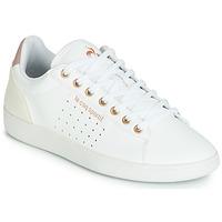 Παπούτσια Γυναίκα Χαμηλά Sneakers Le Coq Sportif COURTSTAR W BOUTIQUE Άσπρο / Ροζ