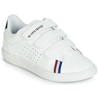 Παπούτσια Παιδί Χαμηλά Sneakers Le Coq Sportif COURTSTAR PS SPORT BBR Άσπρο
