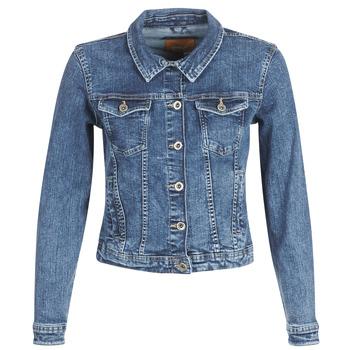 Υφασμάτινα Γυναίκα Τζιν Μπουφάν/Jacket  Only ONLTIA Μπλέ / Medium