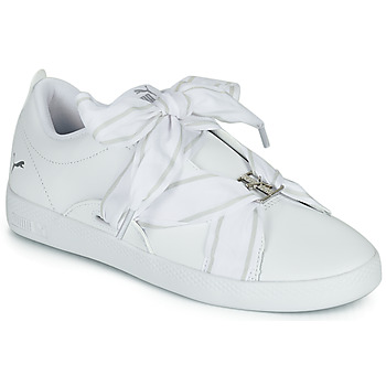 Παπούτσια Γυναίκα Χαμηλά Sneakers Puma SMASH WN BUCKLE Άσπρο