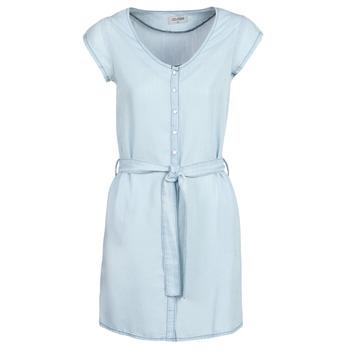 Υφασμάτινα Γυναίκα Κοντά Φορέματα Yurban kOULIENNE Μπλέ /  clair